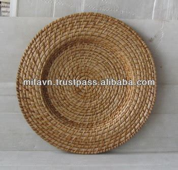 woven chargers woven rattan charger plates buy woven rattan charger