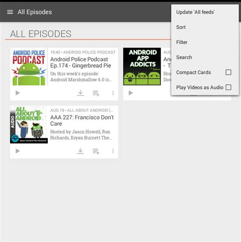 podcasts for android 10 best podcast apps for android 2015 free and paid