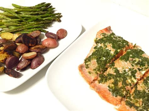 vegetables that go with salmon easy pesto salmon with roasted vegetables smith
