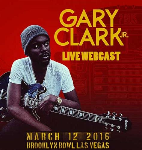 gary clark jr show at bowl las vegas to be webcast
