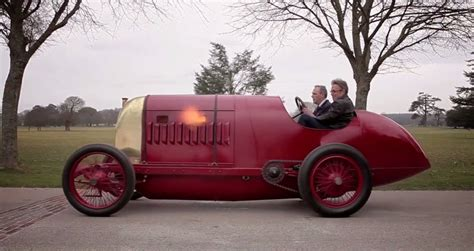 driving the newly restored 1910 fiat s76 beast of turin