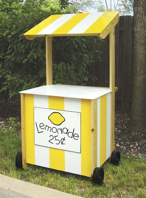 lemonade stand woodworking plans diy lemonade stand