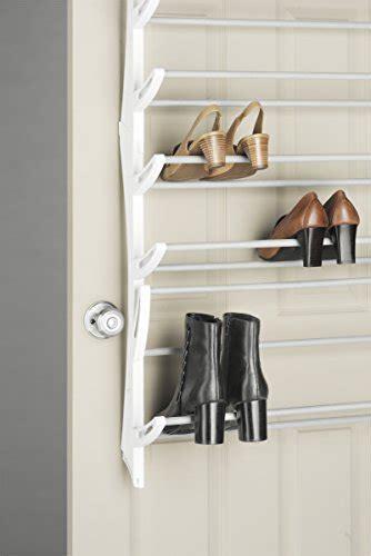 Whitmor Over The Door Rack 36 Fold Up Non Slip Bars Shoe