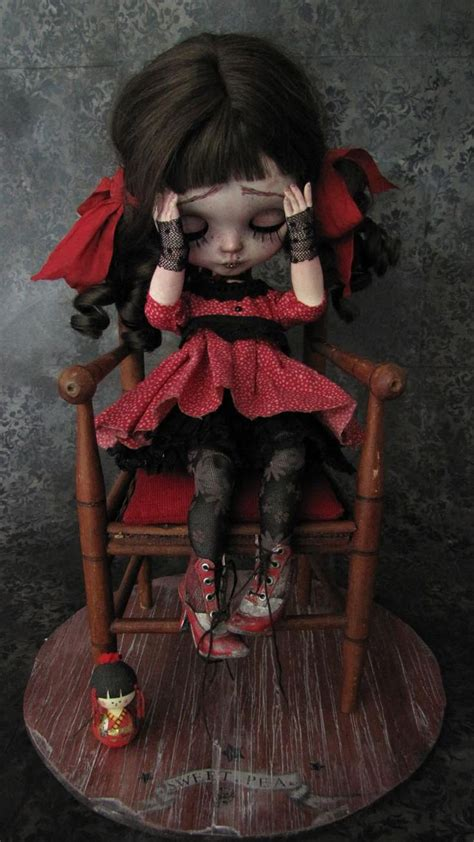Creepy Time Dolly Composition Book best 25 dolls ideas on blythe dolls