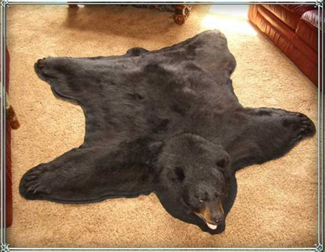 Bearskin Rugs by Skin Mountain Goat Mountain Rugs For Retail