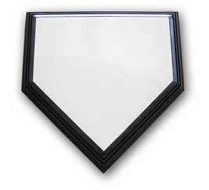 Home Plate Rogers Break Away One Time Baseball Home Plate