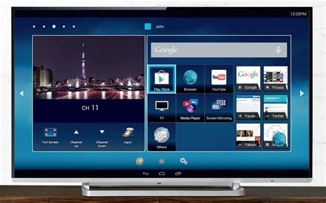 Tv Led Android toshiba launches android powered l5400 l9450 series led tvs in india androidos in