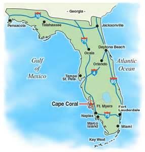 map of florida near orlando florida travel