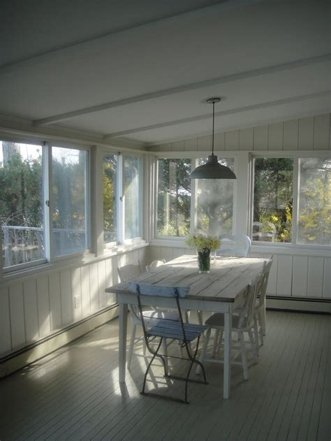 enclosed porch for the home