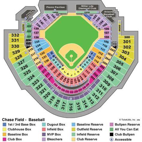 d backs stadium seating chart diamondbacks stadium map world map 07