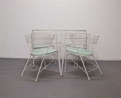 Patio Dining Sets Usa Outdoor Dining Set By Salterini Inset Glass Top With 4