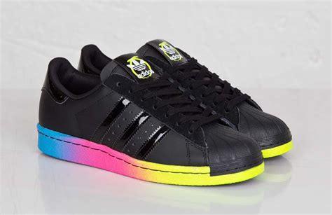 Adidas Rainbow ore x adidas originals superstar 80s quot rainbow sole