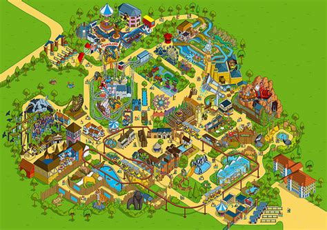 theme park editor 2009 chessington world of adventures theme park map
