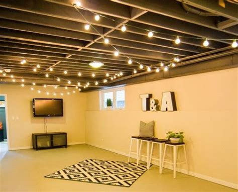 wood basement ceiling 36 practical and stylish basement ceiling d 233 cor ideas