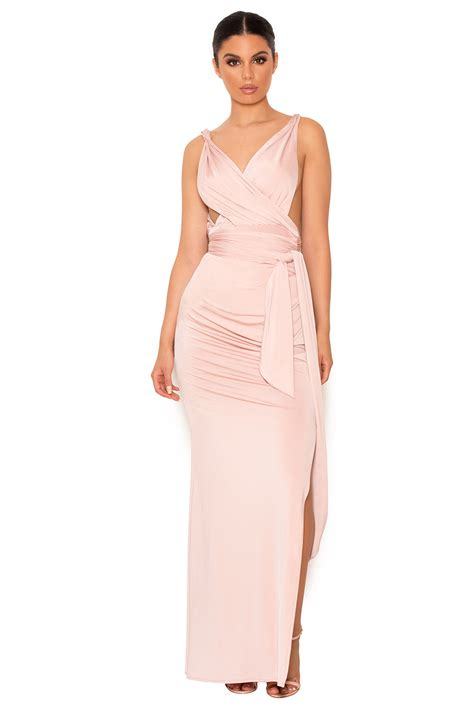 Dominiq Maxi clothing max dresses dominique draped backless gown