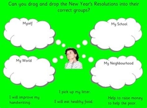 new year activity sheets ks2 eyfs ks1 sen new year resolutions smartboard free