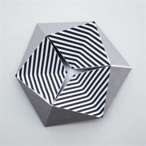 Paper Folding Templates For - kaleidocycle aka folding paper minieco