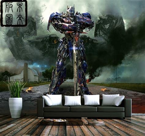 transformers bedroom online buy wholesale transformers wall murals from china
