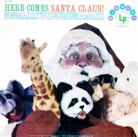 Santa Records Here Comes Santa Claus Harmony Records Hl7137 Vinyl Record Lp Albums On