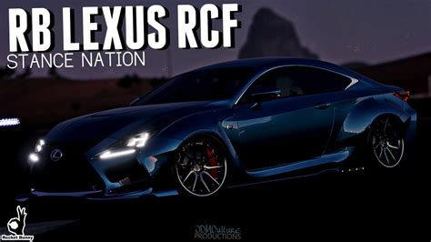 stanced lexus rcf rocket bunny lexus rcf forza horizon 3 stance nation