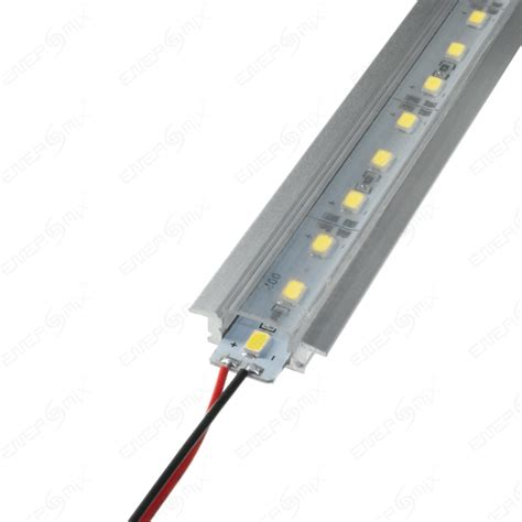 Lu Led 1 Meter led aluschienen transparent set aus alustrip und schiene 1m 14 50