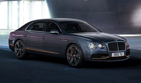 bentley releases a two bentley releases flying spur design series by mulliner