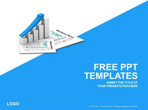 free ppt template free business graph powerpoint template daily