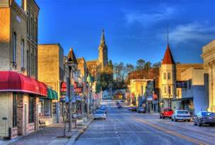 small towns in america with small populations small town america mainline protestantism new
