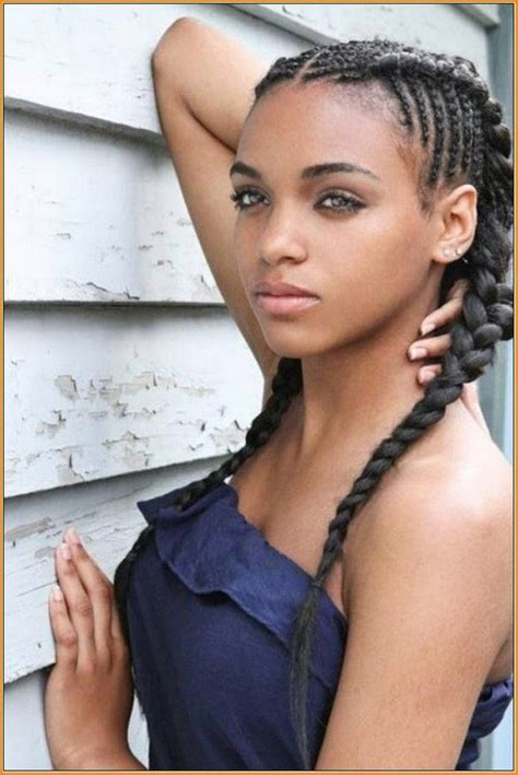 Hairstyles For Black Hair For Teenagers by Weave Braided Hairstyles For Black Teenagers Hair Styles