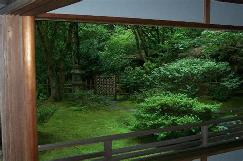 tea house portland view from tea house picture of portland japanese garden portland tripadvisor