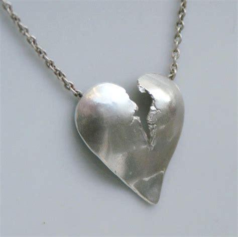 broken pendant with bail contemporary