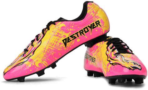 nivia football shoes flipkart nivia destroyer football studs buy black yellow pink