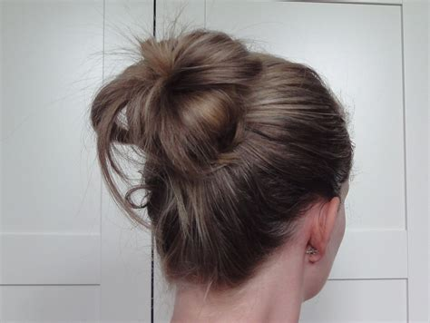 in bun hair covered bun donut best friend uk