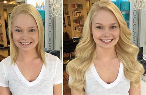 before after di biase hair extensions usa on pinterest di biase hair extensions om hair