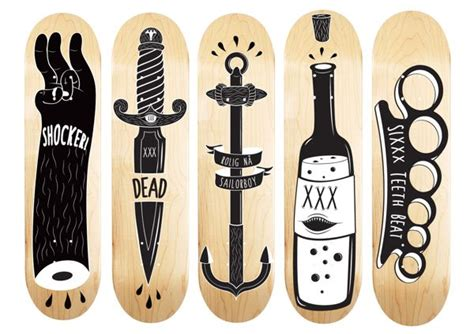 Skateboard Design Ideas by 15 Awesome Skateboard Deck Designs 8 Bit Whale