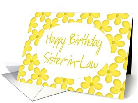 Gift Card Laws Canada - happy birthday sister in law general greeting card