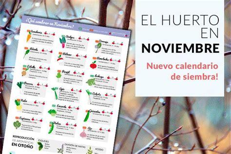 calendario del huerto urbano en setiembre calendarios pinterest descarga tu calendario de siembra para el huerto en