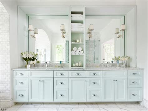 All White Vanity by Photos Hgtv