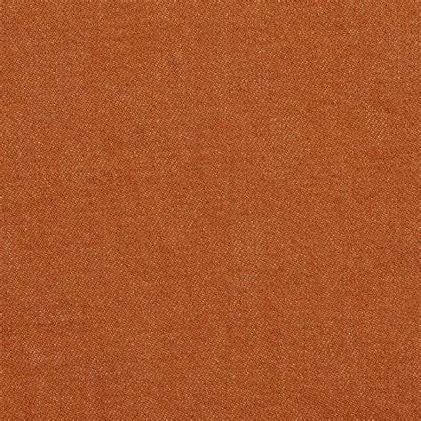Machine Washable Upholstery Fabric by Coral Orange Plain Denim Machine Washable Upholstery Fabric