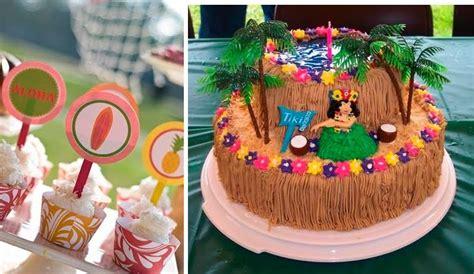 bizcocho decorado hawaiano decoration42 fiesta hawaiana decoracion