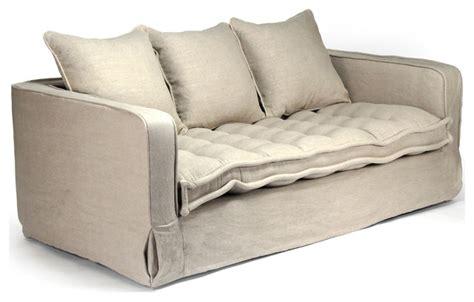 roslyn industrial loft luxe futon seat sofa transitional