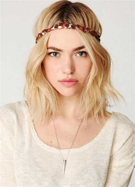 what is bohemian bob hairstyles 20 popular wavy medium hairstyles hairstyles haircuts