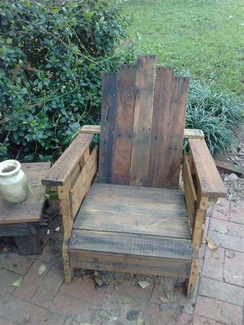 rustic patio chairs outdoor pallet chair 101 pallets