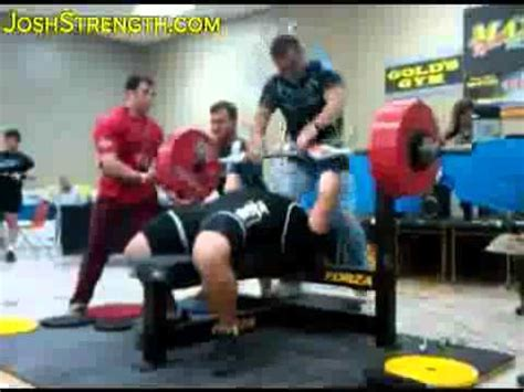 record bench press raw monsta athlete jeremy hoornstra raw world record bench