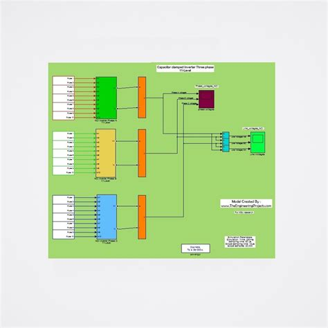11 level capacitor cled inverter the engineering projects