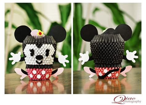 Origami Mickey Mouse - 17 best images about origami projects on the