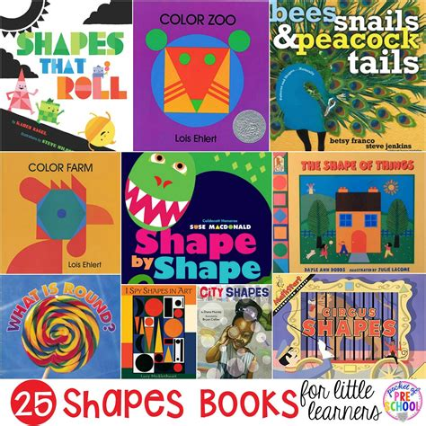 popular themes in children s stories shapes books for little learners pocket of preschool