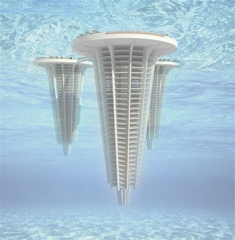 designboom architecture for death futuristic underwater columbarium building designboom