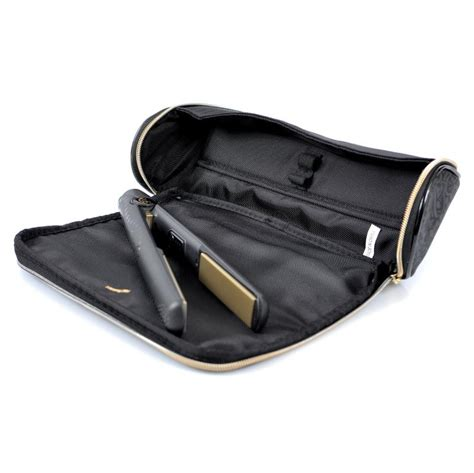 ghd ghd midnight heat resistant storage bag and heat mat