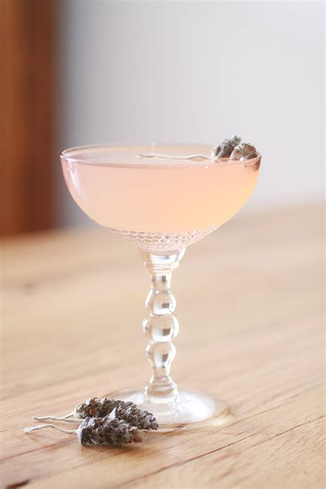 lavender cocktail cocktail recipe provence in with lavender and
